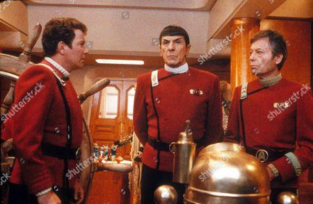 William Shatner, Leonard Nimoy, Deforest Kelley