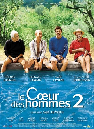 Gérard Darmon, Bernard Campan, Marc Lavoine, Jean-Pierre Darroussin