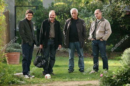 Marc Lavoine, Jean-Pierre Darroussin, Gérard Darmon, Bernard Campan