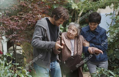Stock Photo of Guillaume Canet, Francoise Bertin, Audrey Tautou