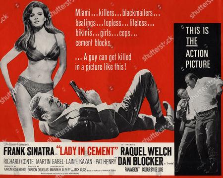 Raquel Welch, Frank Sinatra, Dan Blocker