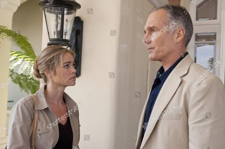Stock Picture of Denise Richards, Patrick St Esprit