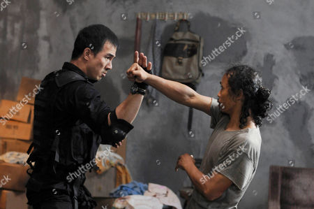 Stock Image of Joe Taslim, Yayan Rubian