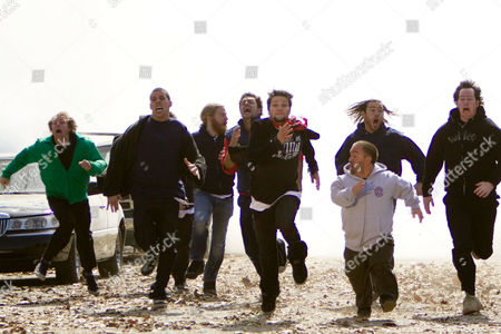 Dave England, Steve-O, Ryan Dunn, Johnny Knoxville, Bam Margera, Wee Man, Chris Pontius, Ehren McGhehey