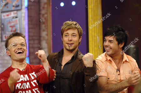 Ray Griffiths ( Ram Ray), Duncan James and Anthony Hutton
