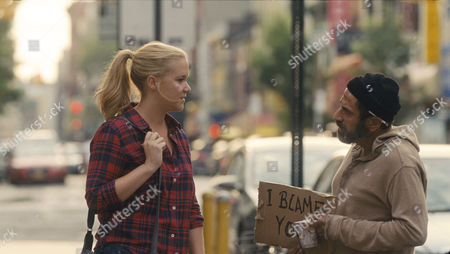 Stock Picture of Amy Schumer, Dave Attell