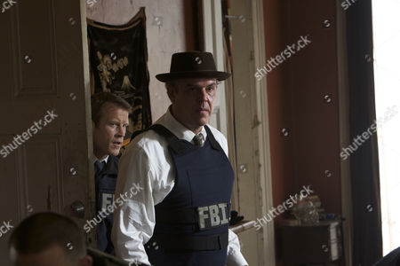 Stock Picture of Danny Huston, Mark Valley