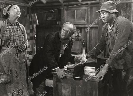 Ethel Waters, Eddie 'Rocheste Anderson, Paul Robeson