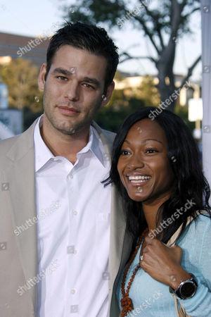Ivan Sergei and wife Tanya
