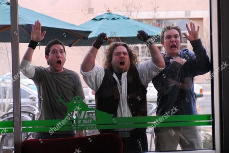 Kyle Newman, Dan Fogler, Chris Marquette