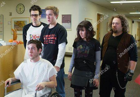 Jay Baruchel, Sam Huntington, Chris Marquette, Kristen Bell, Dan Fogler