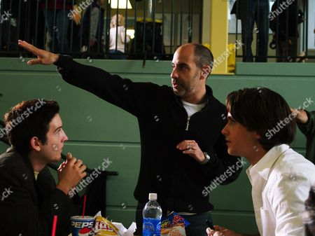 Chris Marquette, David S. Goyer, Justin Chatwin
