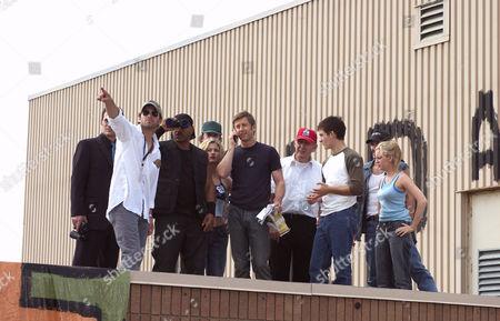 Stock Picture of Zack Snyder, Ving Rhames, Kim Poirier, Jake Weber, Rd Reid, Kevin Zegers, Sarah Polley