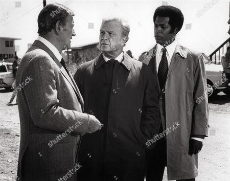 John Wayne, Eddie Albert, Jim Watkins