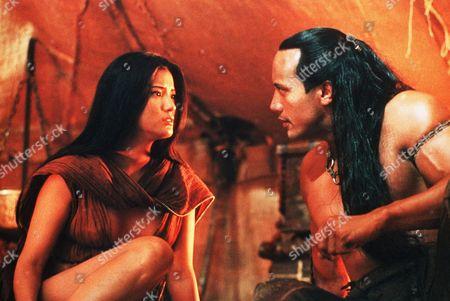 Kelly Hu, The Rock