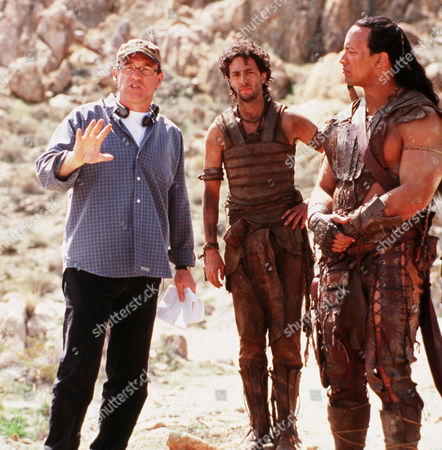 Chuck Russell, Grant Heslov, The Rock