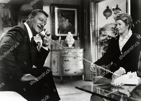 John Wayne, Vera Miles