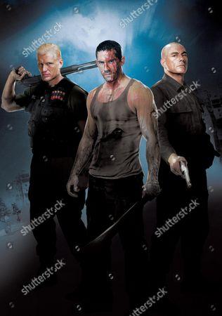 Dolph Lundgren, Scott Adkins, Jean-Claude Van Damme