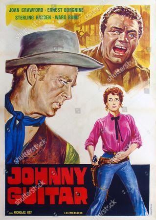 Ward Bond, Ernest Borgnine, Joan Crawford