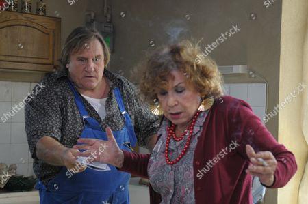 Gerard Depardieu, Claire Maurier