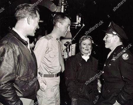 Stock Photo of Ward Bond, James Stewart, Irene Dunne, Spencer Tracy
