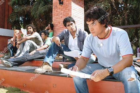 Alice Patten, Kunal Kapoor, Sharman Joshi, Soha Ali Khan, Siddharth, Aamir Khan
