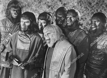 Editorial picture of Planet Of The Apes - Battle For The - 1973