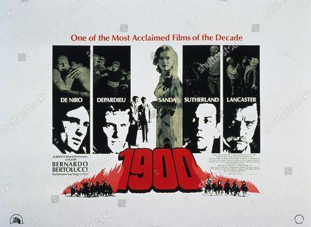 Robert De Niro, Gerard Depardieu, Dominique Sanda, Donald Sutherland, Burt Lancaster