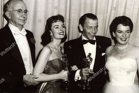Frank Sinatra, Donna Reed, Mercedes McCambridge, Walter Brennan, Mercedes McCambridge