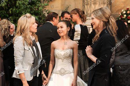 Stock Image of Kristen Bell, Alexis Dziena, Peggy Lipton