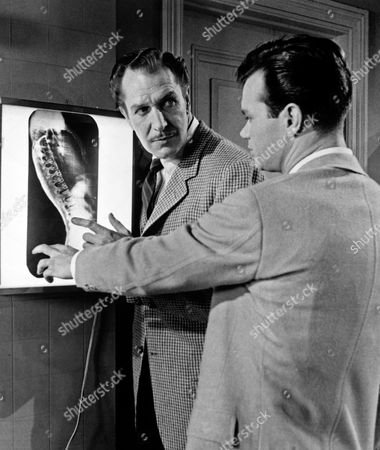 Stock Picture of Vincent Price, Darryl Hickman