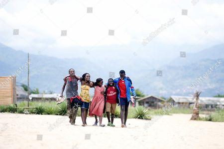Yves Dusenge, Sherrie Silver, Sanyu Joanita Kintu, Eriya Ndayambaje, Roger Nsengiyumva