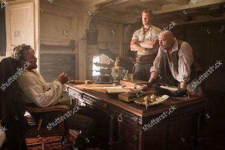 Toby Stephens, Tom Hopper and Mark Ryan
