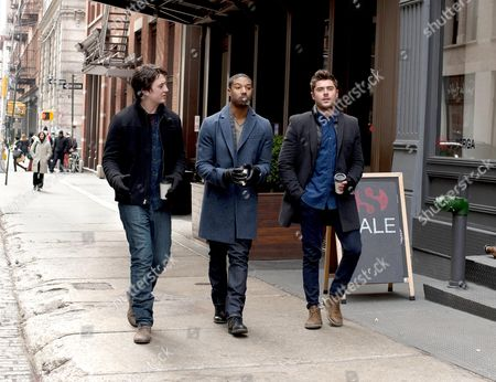 Miles Teller, Michael B. Jordan, Zac Efron