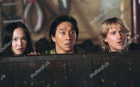 Fann Wong, Jackie Chan, Owen Wilson