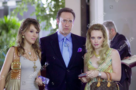 Haylie Duff, Brent Spiner, Hilary Duff