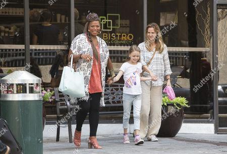Queen Latifah, Kylie Rogers, Jennifer Garner
