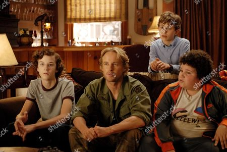 Nate Hartley, Owen Wilson, David Dorfman, Troy Gentile
