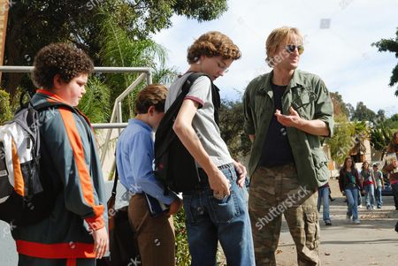Stock Photo of Troy Gentile, David Dorfman, Nate Hartley, Owen Wilson