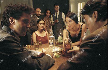 Antonio Banderas, Salma Hayek, Ashley Judd, Alfred Molina