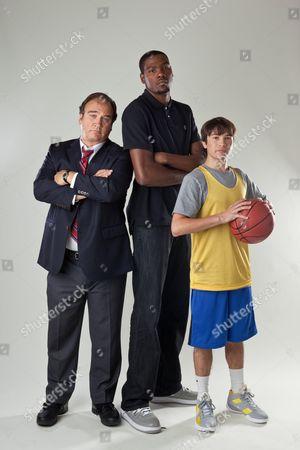 James Belushi, Kevin Durant, Taylor Gray
