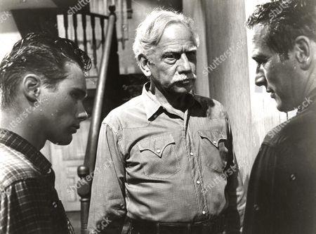 Brandon De Wilde, Melvyn Douglas, Paul Newman