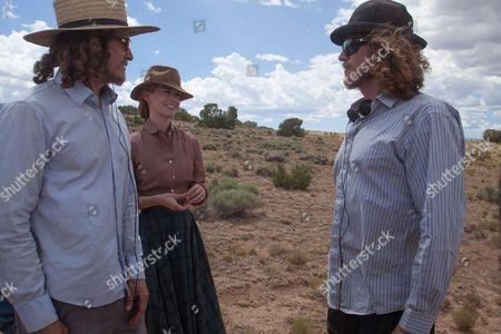 Noah Miller, January Jones, Logan Miller