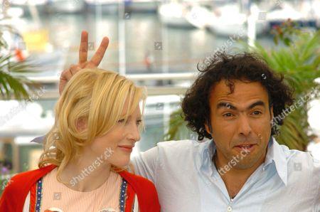 Cate Blanchett and Alejandro Gonzales Inarritu