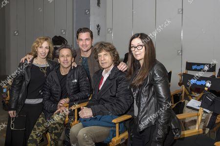 Erica Huggins, Brian Grazer, Tate Taylor, Mick Jagger, Victoria Pearman