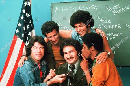 John Travolta, Gabriel Kaplan, Robert Hegyes, Lawrence Hilton-Jacobs