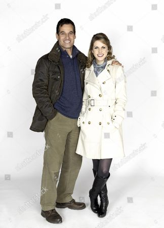 Adrian Pasdar, Amy Huberman