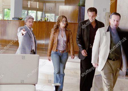 Al Pacino, Jennifer Lopez, Ben Affleck, Lenny Venito