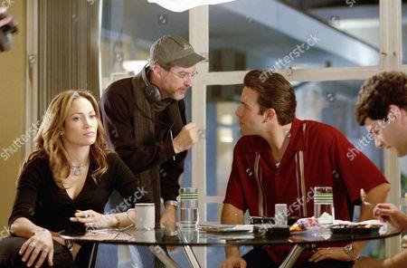 Jennifer Lopez, Martin Brest, Ben Affleck, Justin Bartha