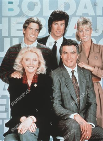 Susan Flannery, Clayton Norcross, Ron Moss